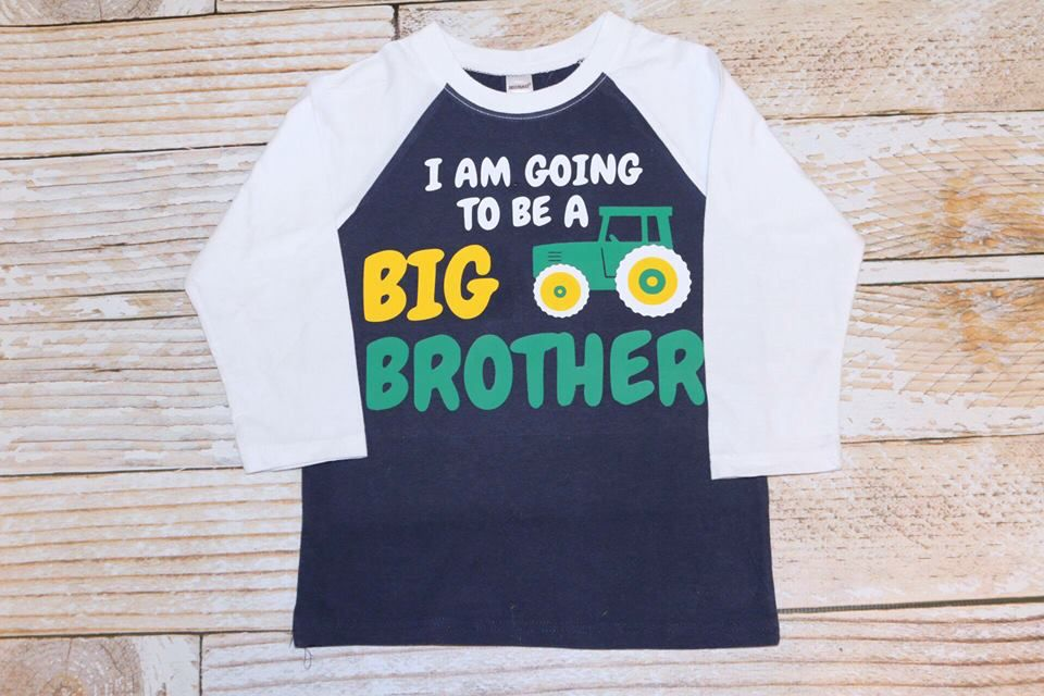 """Lincoln&Lexi I AM GOING TO BE A BIG BROTHER, TRACTOR"""""""