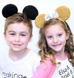 Lincoln&Lexi Black Velvet Mickey Ears