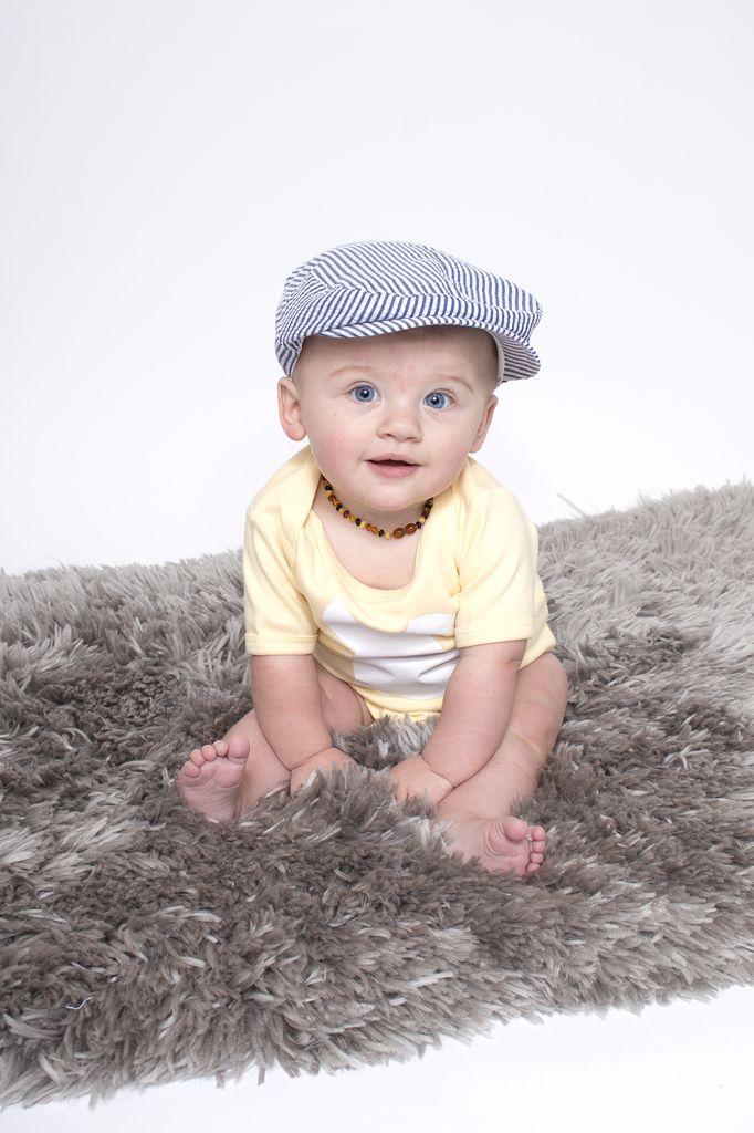 juDanzy Seersucker Cabbie Hat