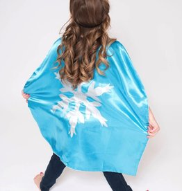 Lincoln&Lexi Superhero Cape & Mask Set-Frozen Elsa