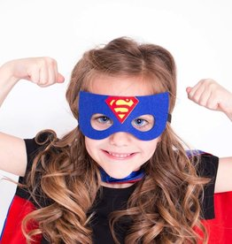 Lincoln&Lexi Superhero Cape & Mask Set-Superman