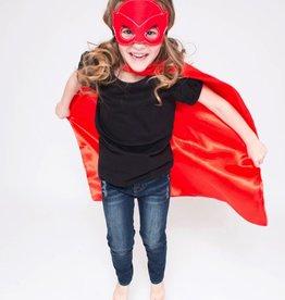 Lincoln&Lexi Superhero Cape & Masks-Owlette