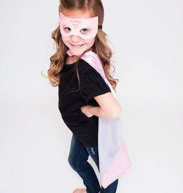Lincoln&Lexi Superhero Cape & Masks-Supergirl