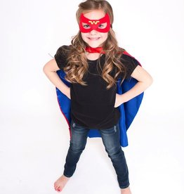 Lincoln&Lexi Superhero Cape & Masks-Wonder Woman
