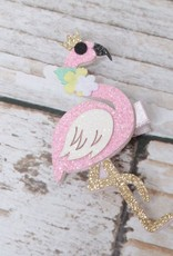 Lincoln&Lexi Flamingo Sparkle Hair Clip