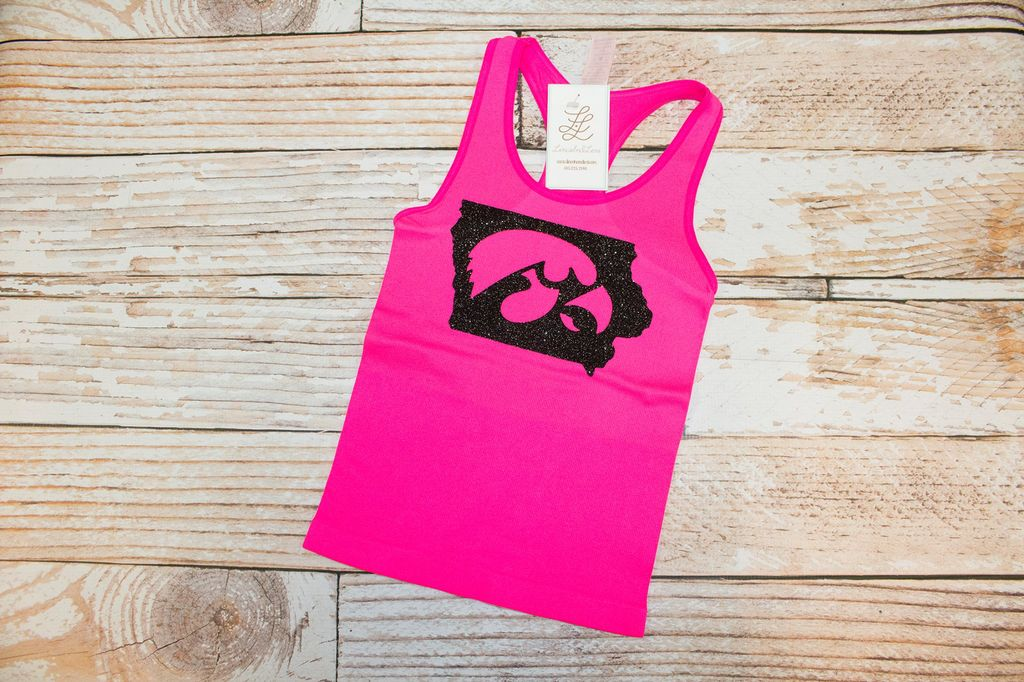 Lincoln&Lexi Hawkeye State Tank Top