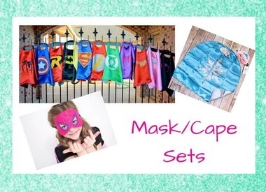 Superhero Capes&Masks