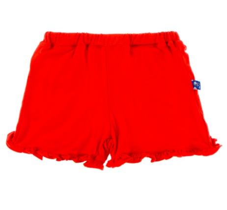Kickee Pants Solid Ruffle Short