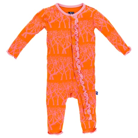 Kickee Pants Muffin Ruffle Coverall