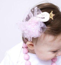 Lincoln&Lexi Swan Princess Clip
