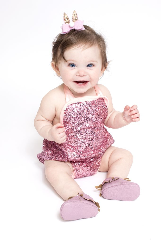Lincoln&Lexi Little Miss Hollywood Romper