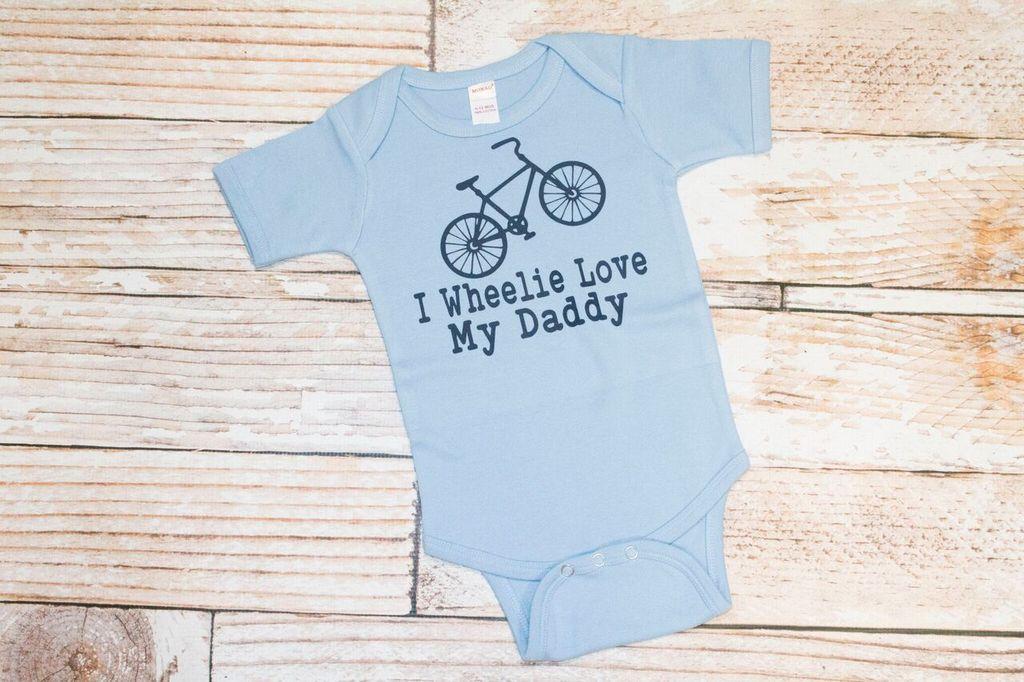 Lincoln&Lexi I Wheelie Love My Daddy