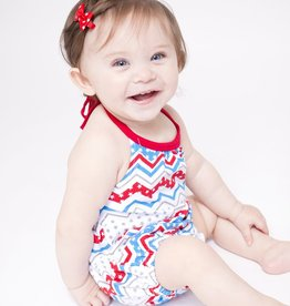 Lincoln&Lexi Little Miss Indepence Romper
