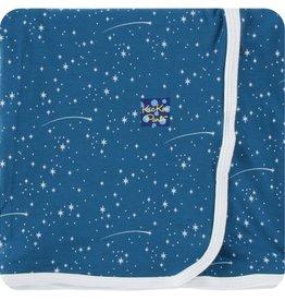 Kickee Pants Print Swaddling Blanket (Twilight Starry Sky)
