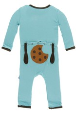 Kickee Pants Applique Coverall with Zipper