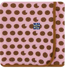 Kickee Pants Print Swaddling Blanket (Lotus Cookies)
