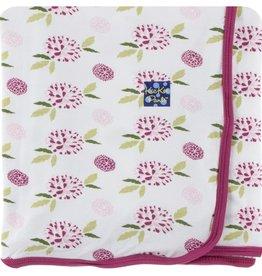 Kickee Pants Print Swaddling Blanket (Natural Marigold)