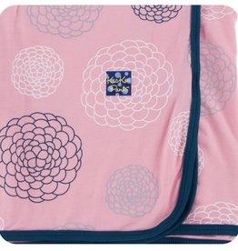 Kickee Pants Print Swaddling Blanket (Lotus Blooms)
