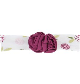 Kickee Pants Print Flower Headband (Natural Marigold - One Size)