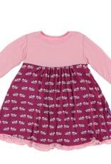 Kickee Pants Long Sleeve Swing Dress