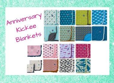 Anniversary Kickee Blankets