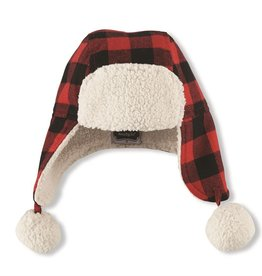 Mud Pie BUFFALO CHECK HAT - INFANT