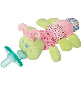 MARY MEYER Cutsie Caterpillar WubbaNub Pacifier – 6″