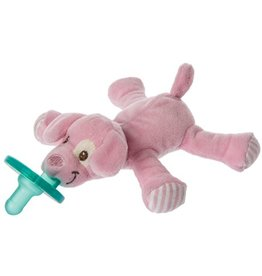 MARY MEYER Pinky Pup WubbaNub Pacifier – 6″