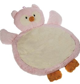 MARY MEYER Pink Owl Baby Mat – 31×23″