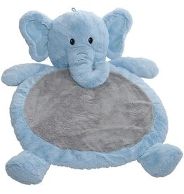 MARY MEYER Blue Elephant Baby Mat – 31×23″