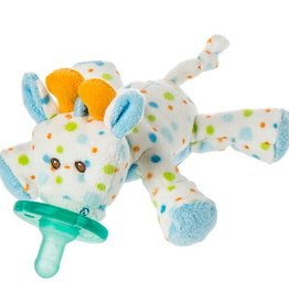 MARY MEYER Little Stretch Giraffe WubbaNub Pacifier – 6″
