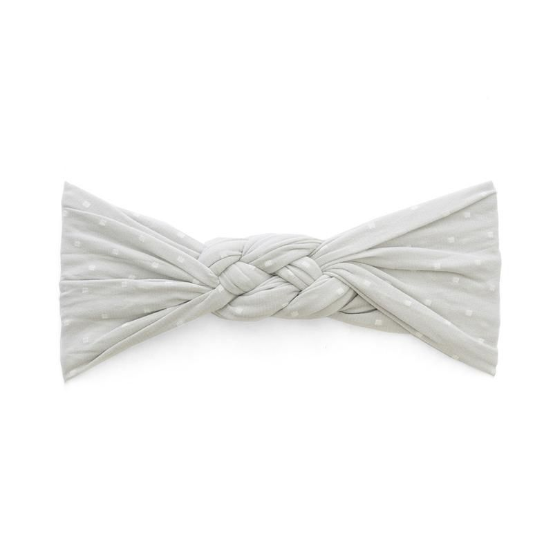 Baby Bling Sailor Knot Dot (Grey Dot)