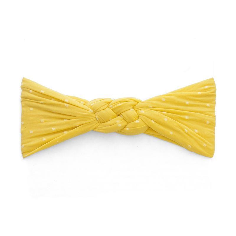 Baby Bling Sailor Knot Dot (Mustard)