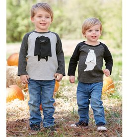 Mud Pie HALLOWEEN OPEN ARM T-SHIRTS