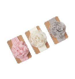 Mud Pie JUMBO MESH PUFF HEADBANDS