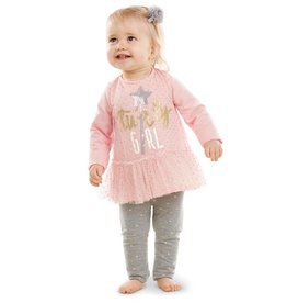 Mud Pie TWIRL TUNIC & LEGGGING SET