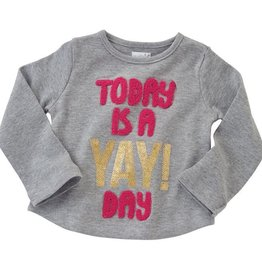 Mud Pie TODAY IS A YAY DAY TEE