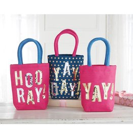 Mud Pie YAY DAZZLE MINI TOTES