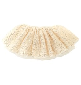 Mud Pie GOLD SEQUIN MESH TUTU
