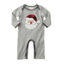 Mud Pie CAMO SANTA ONE-PIECE