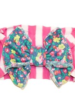 Baby Bling Jersey Bow (PS/Denim Floral)