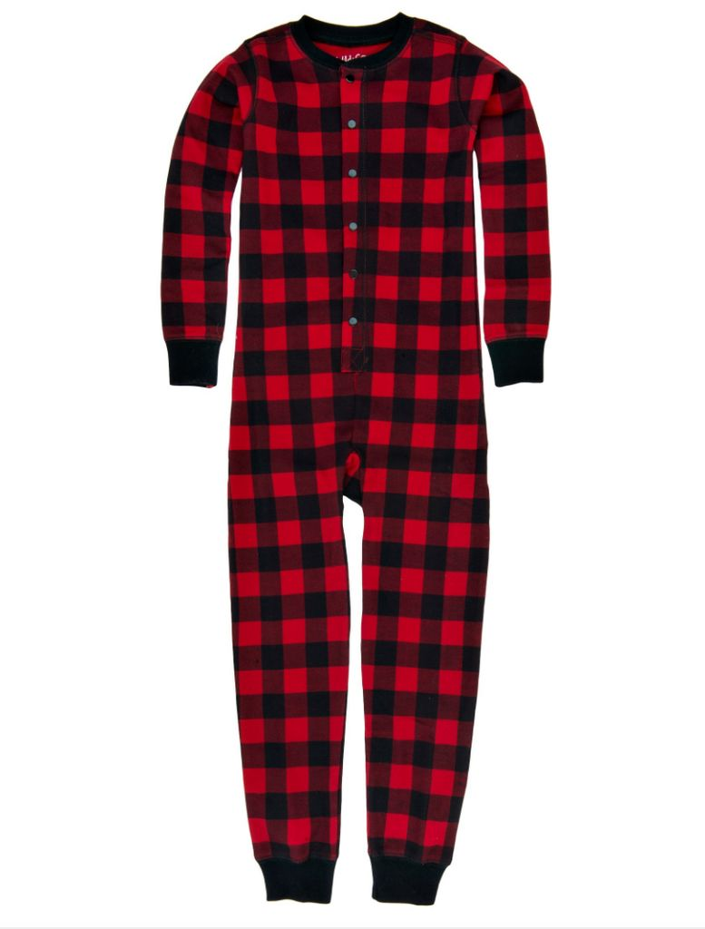 Hatley Buffalo Plaid Union Suit Lincoln Amp Lexi