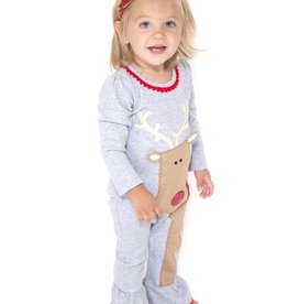 Mud Pie Reindeer One Piece.