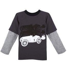 ANDY & EVAN Race Car Tee-Grey.6Y