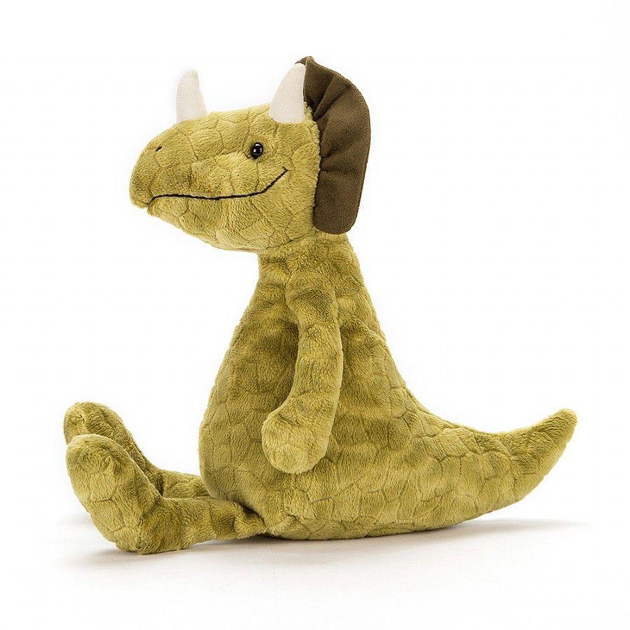 """JellyCat Trevor Triceratops 13"""""""