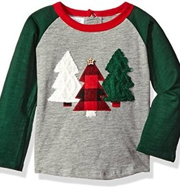 Mud Pie Christmas Tree Long Sleeve T Shirt.2(12-18M)