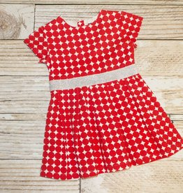 Toobydoo RED/WHT.DOT DRESS.2