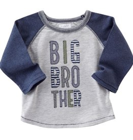 Mud Pie BIG BROTHER RAGLAN T-SHIRT