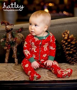 Hatley Gingerbread Footie