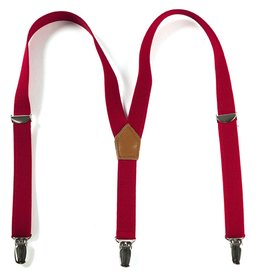 URBAN SUNDAY Solid Red Suspenders.2-8Y